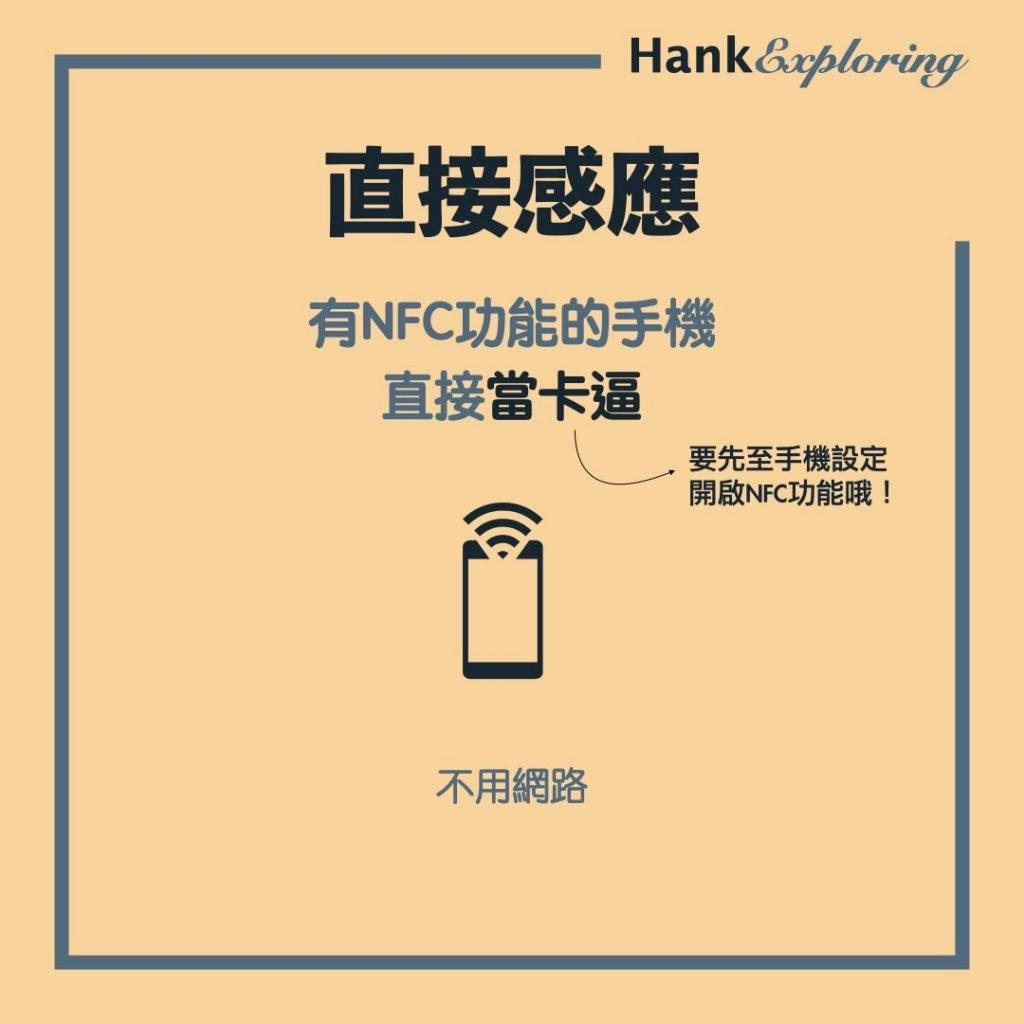 行動支付付款方式:NFC感應