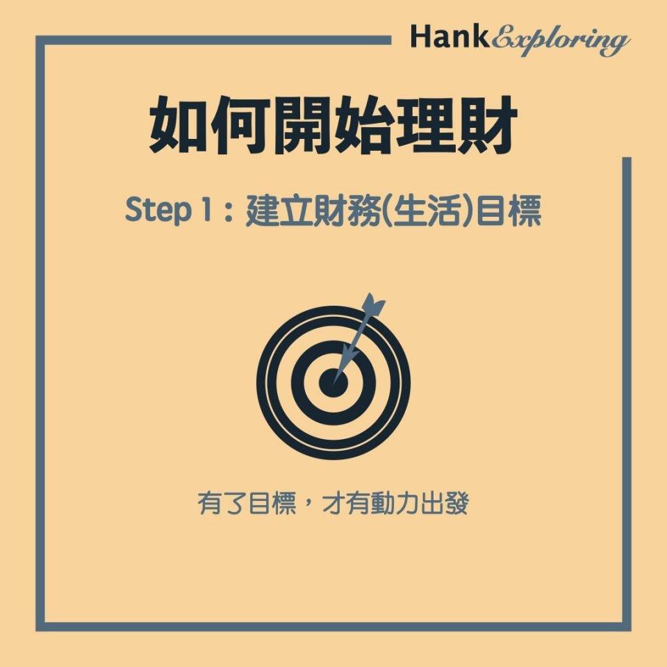 【理財方法】step 1:建立財務(生活)目標