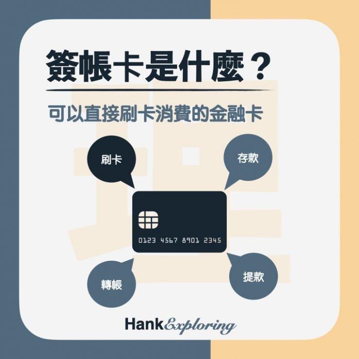 【簽帳金融卡】簽帳金融卡是什麼